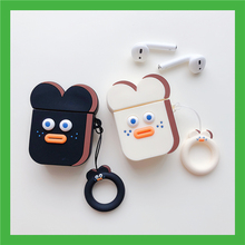 Korea Cartoon Cute Sausage Mouth Brunch Brother Shockproof Headphone Case For Apple Airpods 2 Silicone Protection Earphone Cover