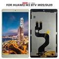 Для 8,4 дюймов huawei Mediapad M3 BTV-W09 BTV-DL09 ЖК-дисплей сенсорный экран дигитайзер Сенсорная панель в сборе