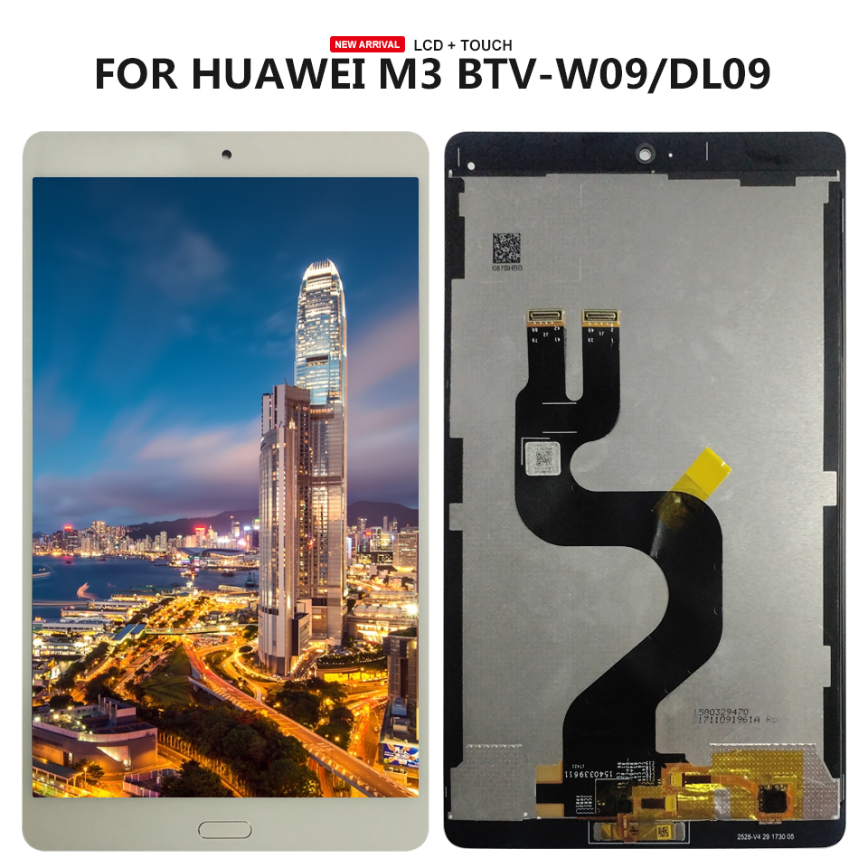 """8.4/"""" For Huawei MediaPad M3 WiFi BTV-W09 DL09  LCD Display Touch Screen Replaced"""
