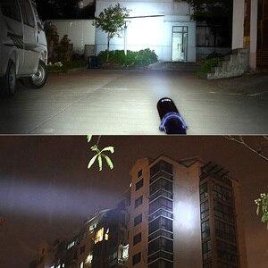 Image 4 - SHENYU Honkbalknuppel Foelie Vormige LED Zaklamp voor Veiligheid en Zelfverdediging Ultra Heldere Baton Zaklamp Ass Kicker