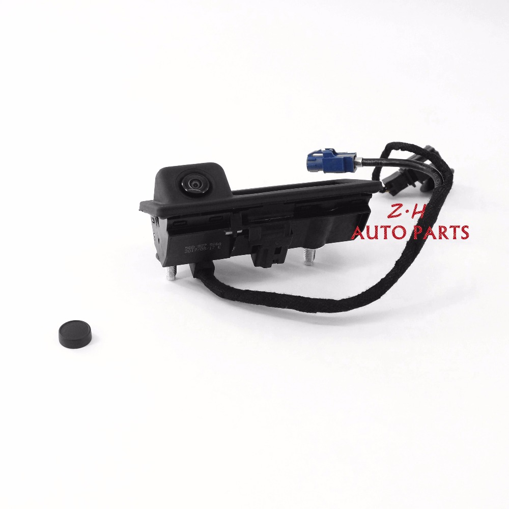 Original OEM Rear View Reversing Camera For Vw Passat NMS Touareg Jetta MK6 Tiguan RCD510 RNS510 RNS315 RNS310 56D 827 566 A tuke rns310 rns315 rcd510 rns510 oem vw tiguan connect the electric wire reversing camera module