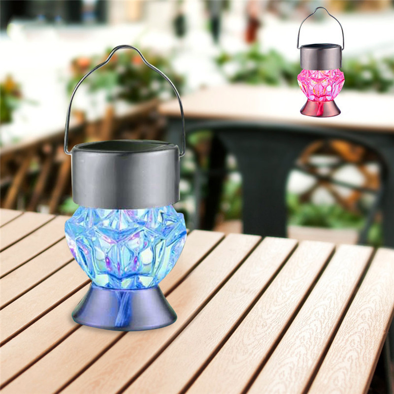 laideyi outdoor led solar powered light 7 colors on Outdoor Solar Lights For Sale id=23530