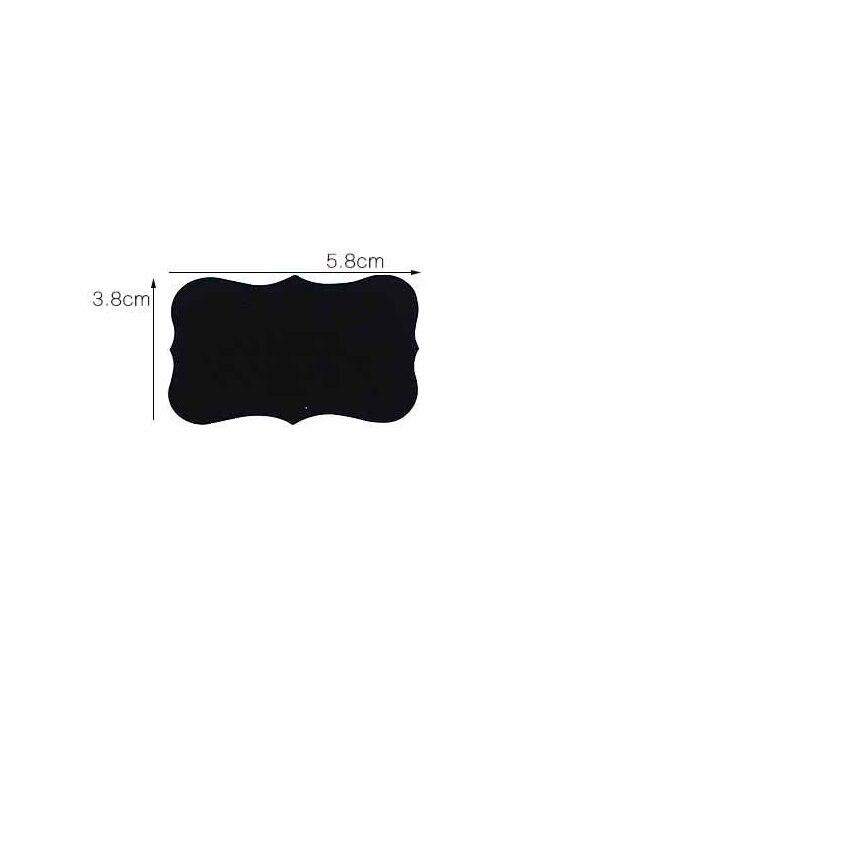 Купить с кэшбэком 80pcs/lot Cloud lace stickers black Blackboard Sticker Craft Kitchen Labels Chalkboard Chalk Board Sticker Black Board