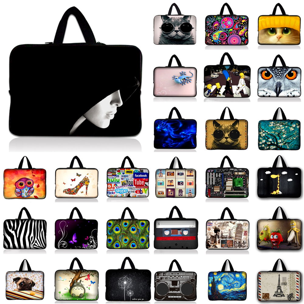 10.1 11.6 13 13.3 14.4 15.4 15.6 17 inch Laptop Sleeve Bag Waterproof Notebook Case Computer Bag for MacBook Air Pro Asus HP