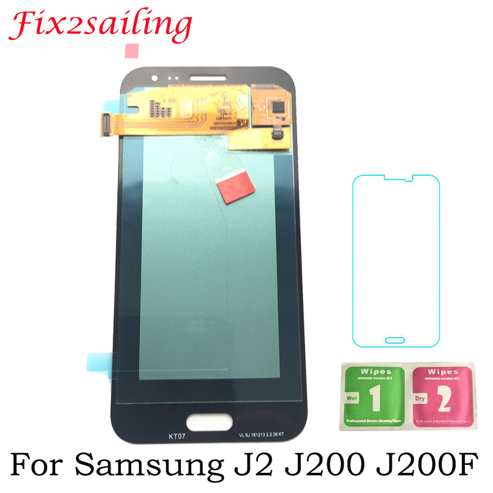 For J2 LCD Screen For SAMSUNG GALAXY J2 J200 J200F J200H J200Y LCD Display Touch Screen Digitizer Assembly Super AMOLED DisplayFor J2 LCD Screen For SAMSUNG GALAXY J2 J200 J200F J200H J200Y LCD Display Touch Screen Digitizer Assembly Super AMOLED Display