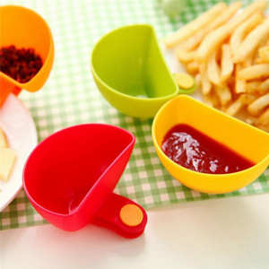 Ketchup Cup-Bowl Salad-Sauce Kitchen-Tool 4 for Tomato-Salt-Vinegar Sugar-Flavor Splice