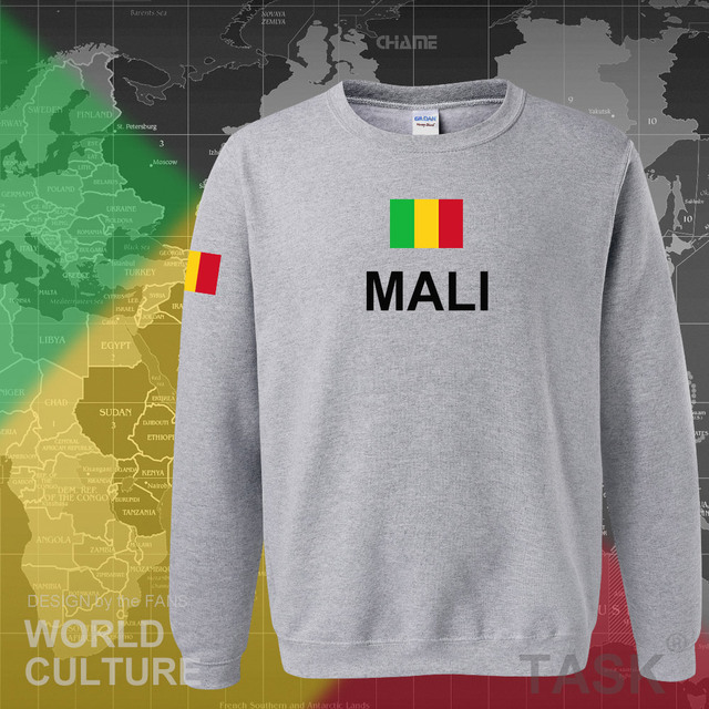 Republic of Mali hoodie men sweatshirt sweat new hip hop streetwear tracksuit nation footballer sporting country MLI Malian 5