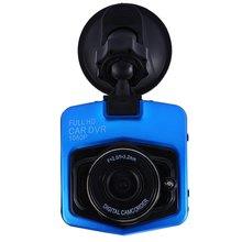 GT300 Original 1080 P Full HD Novatek Coche Dvr Granangular Del Coche Cámara Grabadora Con La Visión Nocturna Con G-Sensor Dash Cam-azul