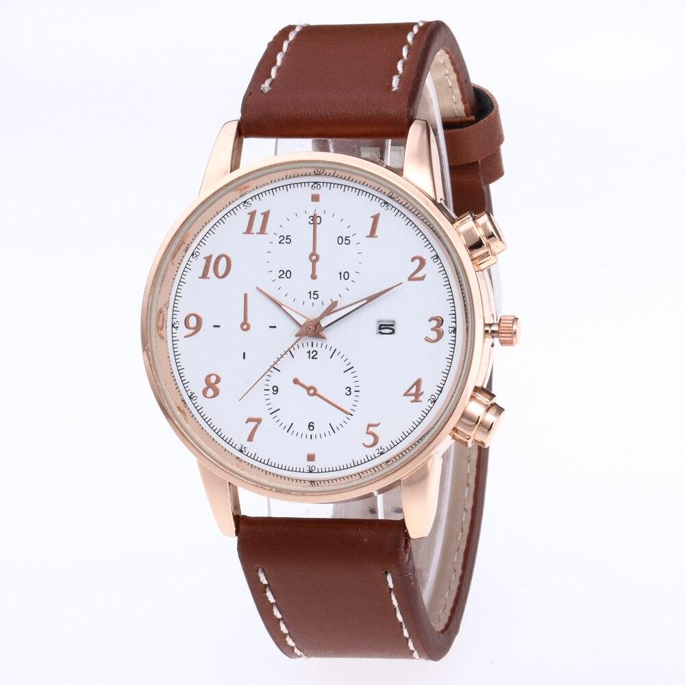 Luxury Brand North Stylish Men Watch Black Popular Classic Minimalism Business Quartz Casual Mens Dress Wristwatch kol saati