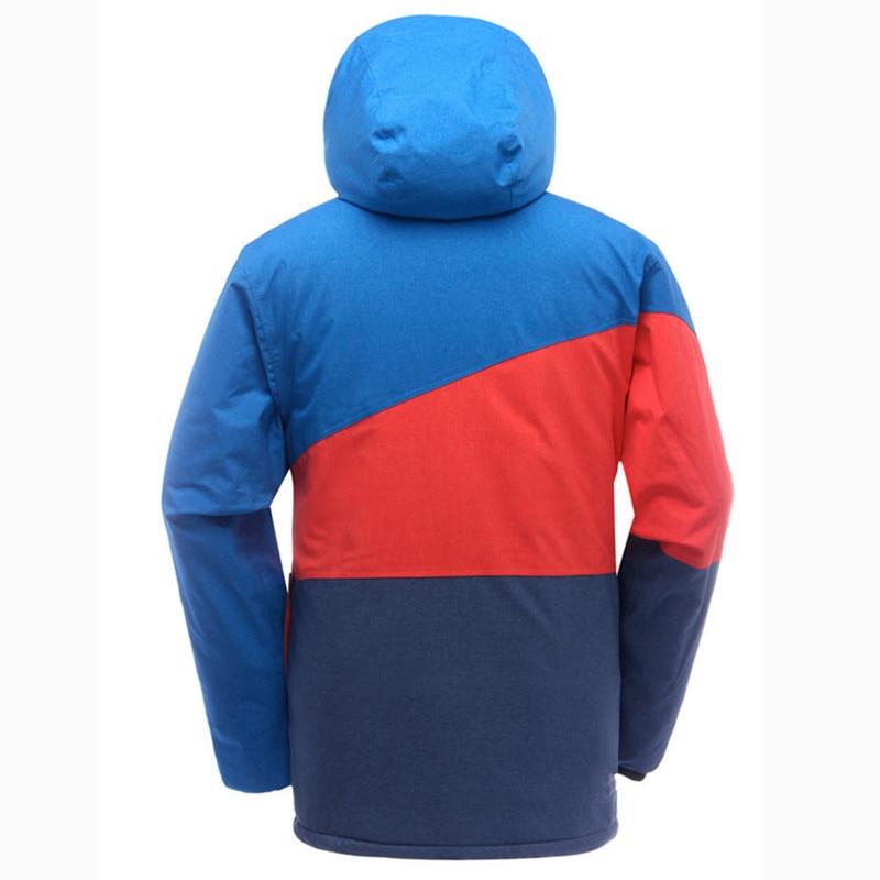 SAENSHING veste de Snowboard hommes veste de Ski imperméable vêtements de neige épaissir chaud extérieur Ski vestes d'hiver Ski et Snowboard - 4