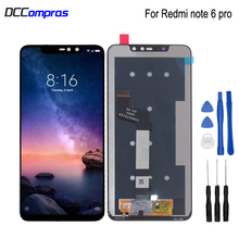 Original Display For Xiaomi Redmi Note 6 Pro LCD Touch Screen Digitizer For Redmi Note 6 Pro Screen LCD Display Replacement original new 6 0inch e ink hd ink screen for digma e626 lcd display screen ebook reader replacement