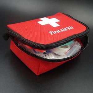 Image 5 - 11 รายการ/28pcs แบบพกพาชุดปฐมพยาบาลกลางแจ้ง Camping Emergency Medical BAG ผ้าพันแผล Band Aid Survival ชุด self Defense