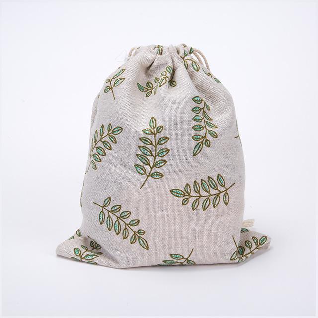 Women's Cotton Drawstring Bag