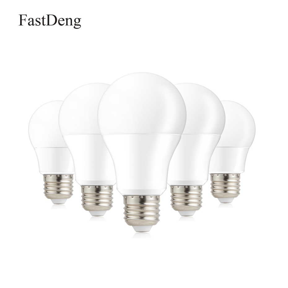 1PCS E27 LED Bulb Lamp 220V 3W 5W 7W 9W 12W 15W Ampoule Bombilla LED Spotlight SMD2835 Lampada LED Light For Home Lighting