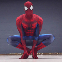 Newest Spiderman Costume 3D Printing Spider man Costumes Cosplay Spandex Zentai Suit Men Women Halloween Party Cosplay Costumes