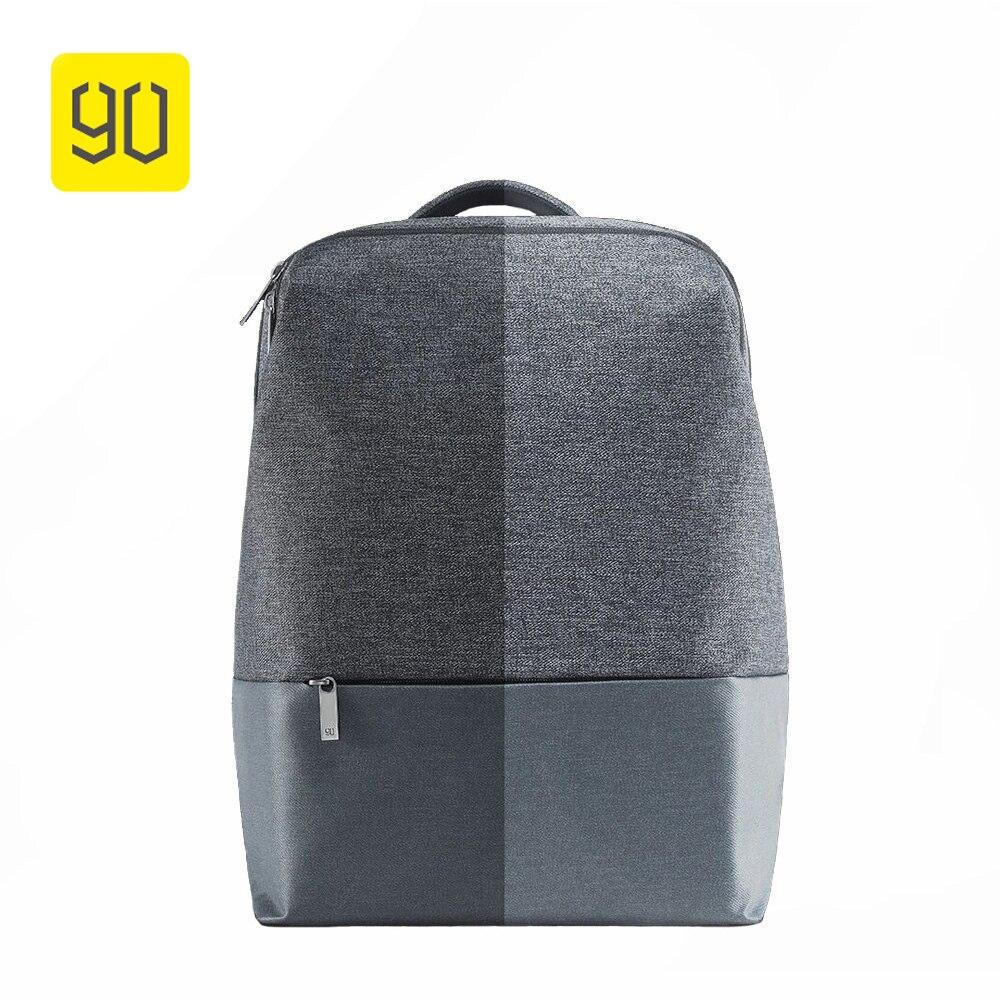 Xiaomi 90 Fun City простой рюкзак Водонепроницаемый Женский Досуг Рюкзак Школьная сумка вещевой мешок сумка для 14 дюймов ноутбука