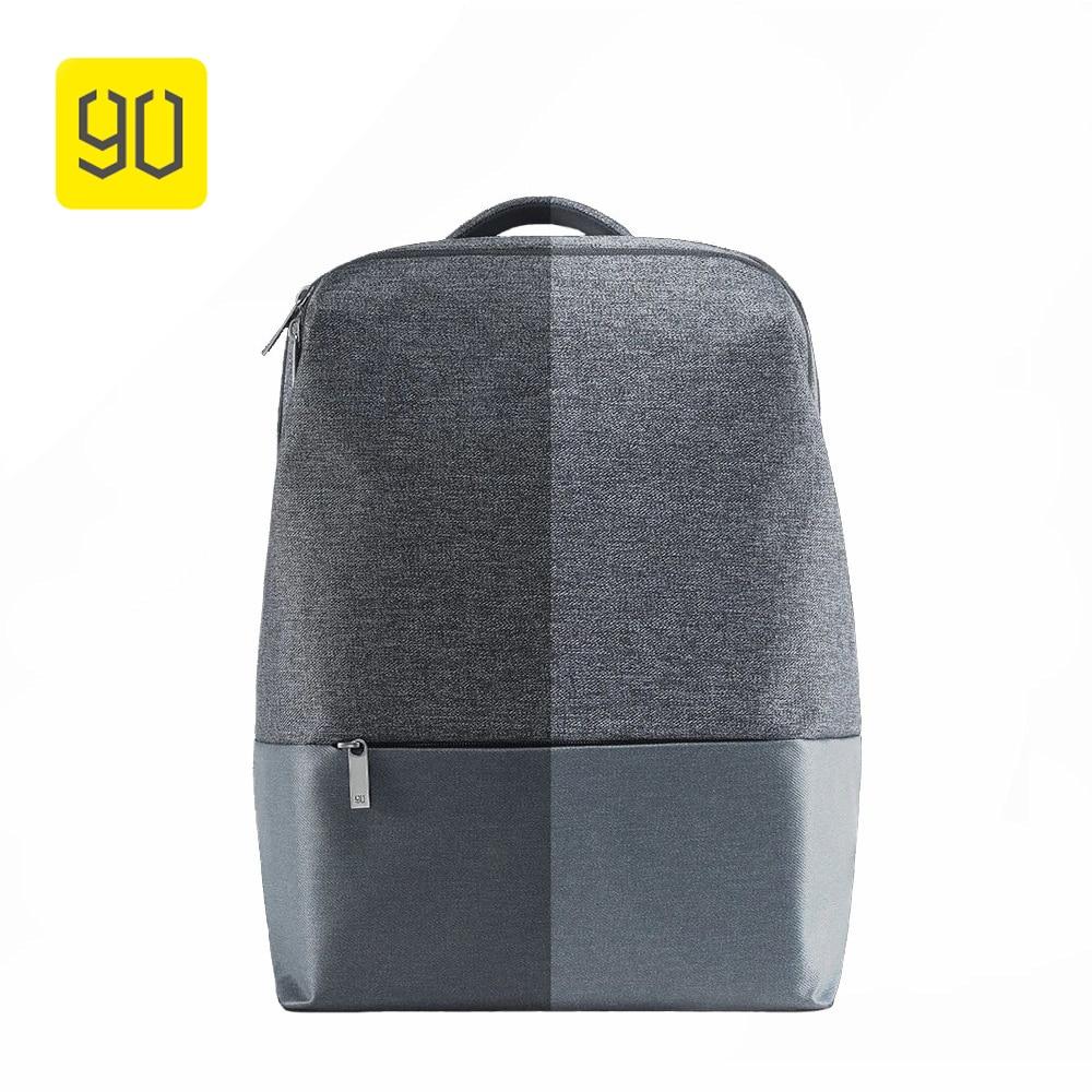 1f17dbac95b5f Xiaomi 90 zabawy miasta proste wodoodporny plecak kobiet wypoczynek plecak  plecak torba szkolna torba sportowa tornister dla 14 Cal na laptopa w  Xiaomi 90 ...