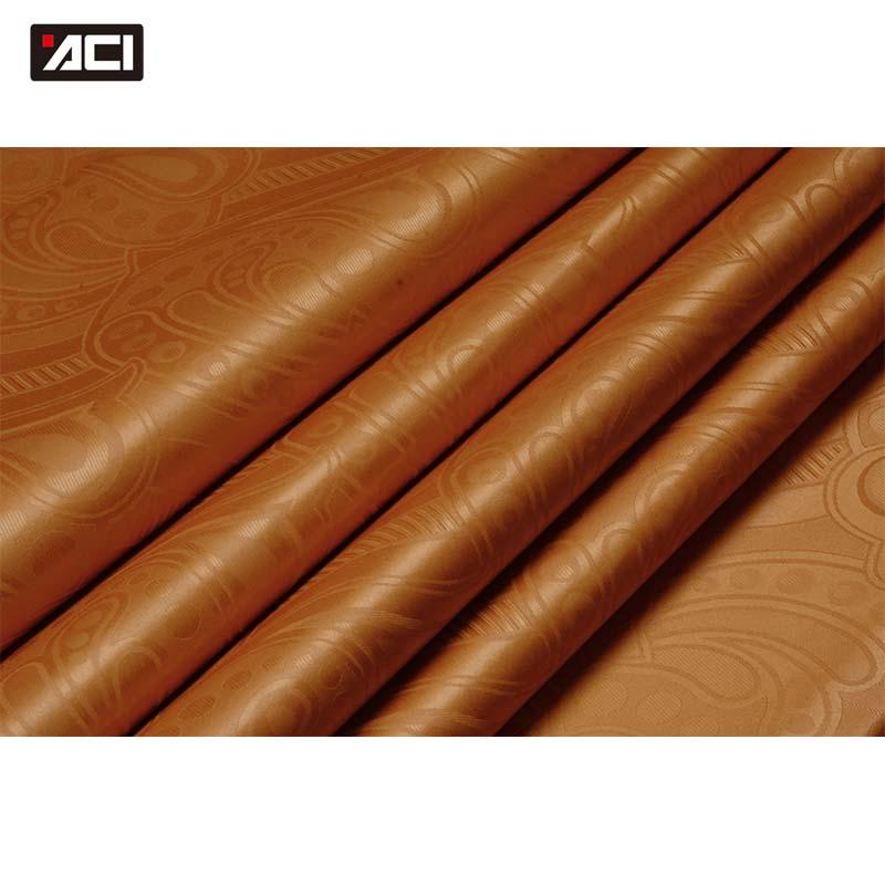 ACI 10 Yards bonne qualité Bazin Riche tissu livraison gratuite mode Jacquard Polyester guinée brocart damassé 2018 hommes tissu