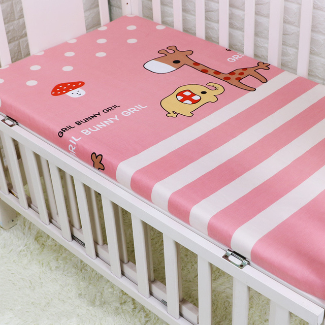 1 PC Bed Sheet For Baby Room Decor Baby Crib Sheet Cartoon Newborn Bedclothes For Cot 100*140cm Infant Bedsheet New Kids sabanas