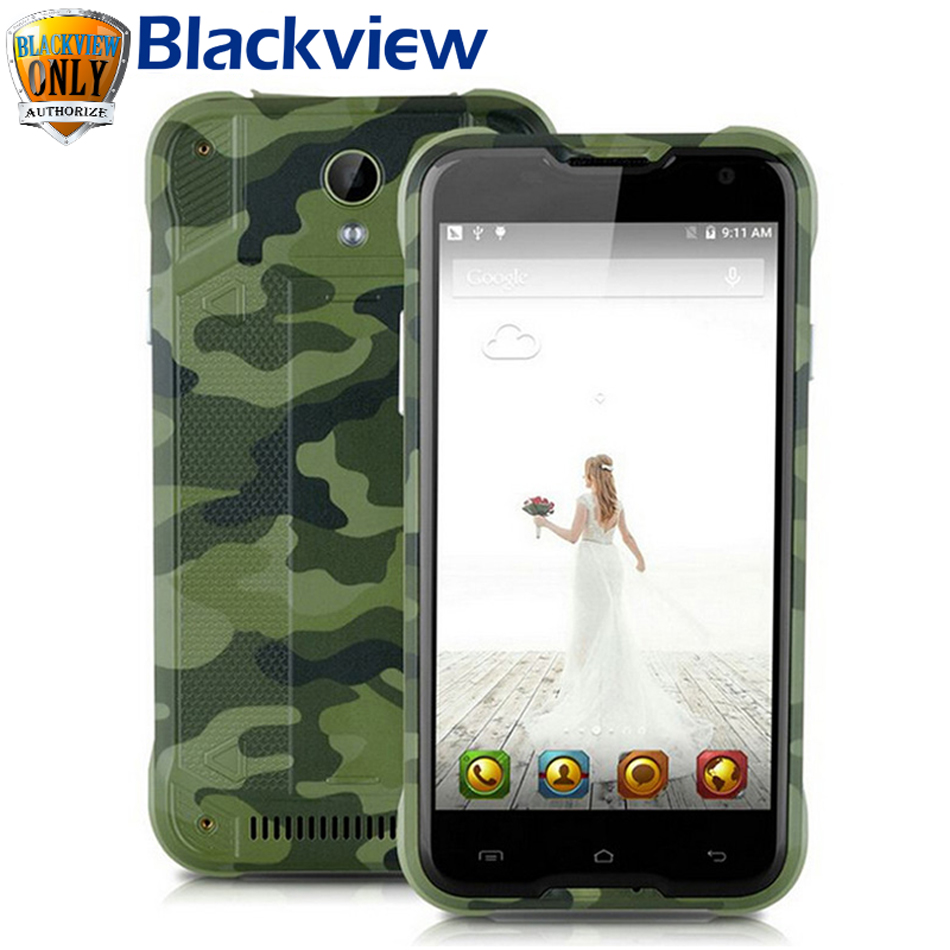 bilder für Original Blackview BV5000 Android 5.1 4G LTE Handy 5 zoll HD 1280*720 2G 16G MTK6735P Quad Core Dual Sim Smartphone