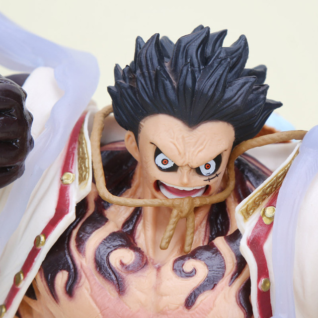 One Piece Monkey D. Luffy Gear 4 Figura de Acción