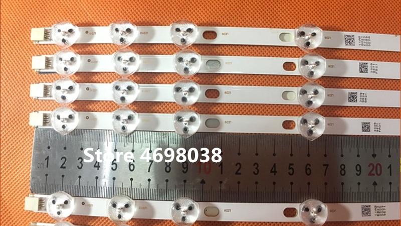 Image 2 - 2piece/lot BANDE LED VESTEL 32inch REV0.2 TIS 4A 94V 0 1612 VES315WNDA 01 NUEVAS 11LED 574MM-in Stage Lighting Effect from Lights & Lighting
