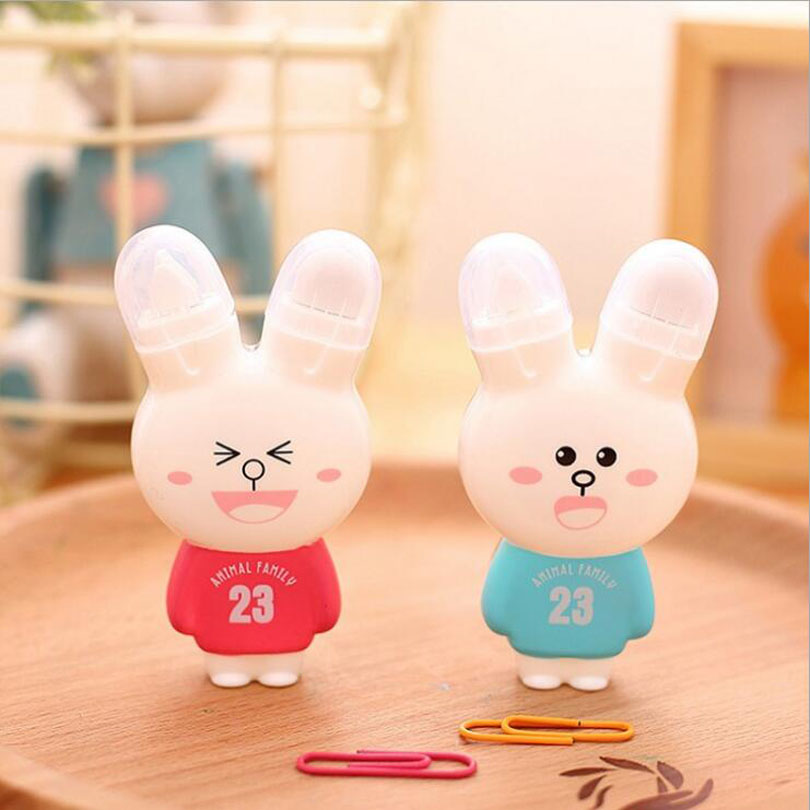 24pcs/lot Kawaii Rabbit Design 23 Animal Family Cute Correction Tape 6m Office Stationery School Correction Supplies G234