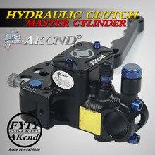 akcnd 19-17.5mm Motorcycle Brake Clutch Master Cylinder Hydraulic Pump handle For nmax bws smax aerox R6 Fz6 Gsxr600 Zx-6r Z800