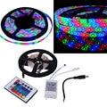 5M 300 LEDs SMD 2835 RGB Strip String Light 12V Home Decoration Remote Control