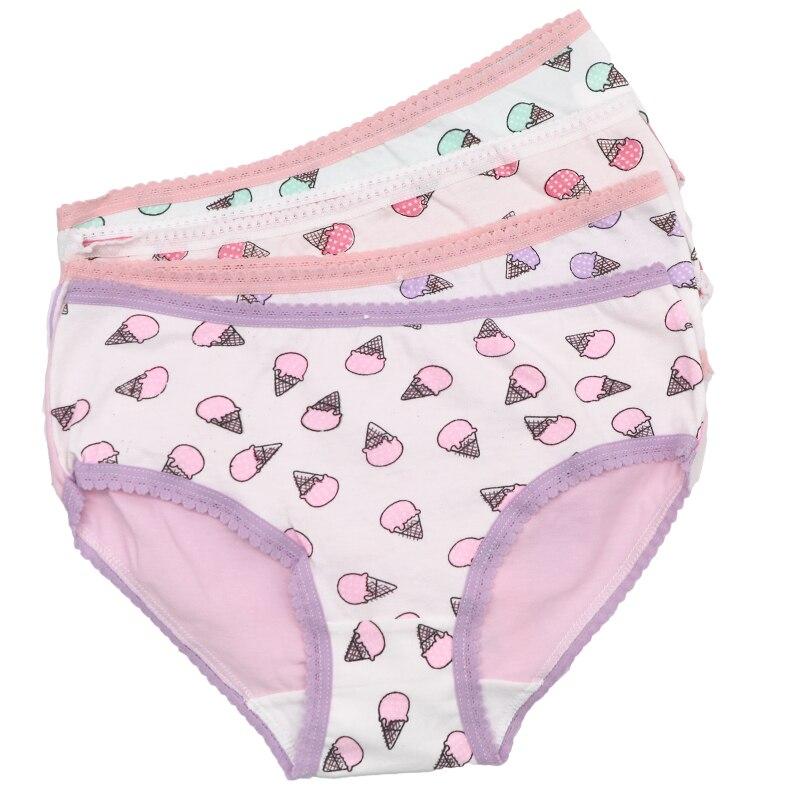 Buy Women Underwear Cute Ice Cream Printed Ladies Briefs Panties Intimates Briefs Knickers Seamless Panties Lingerie Underpants