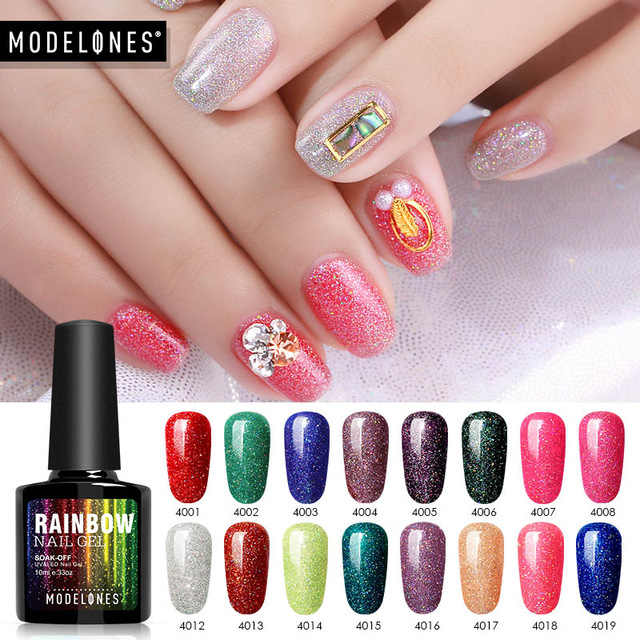 Detail Feedback Questions about Modelones Nail Gel Polish Neon Nail ...