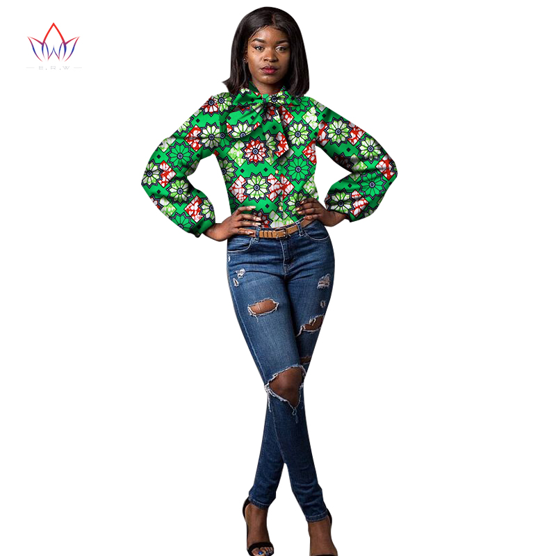 2018 Նոր ժամանող աֆրիկյան մոմի տպագիր - Կանացի հագուստ - Լուսանկար 3