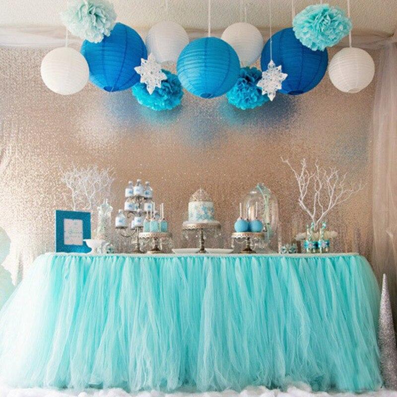 Haochu 10 м * 40 см зеркало кристалл органза, тюль ролл свадебные стул створки лук Настольная дорожка SWAG Ткань на день рождения детский праздничны...