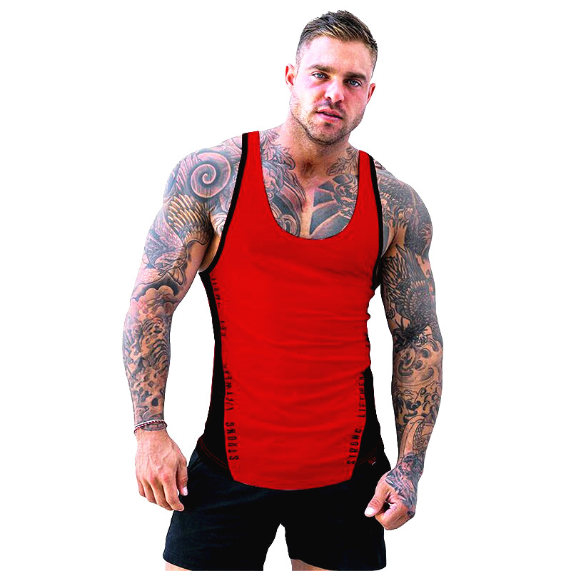 ZOGAA Men Bodybuilding   Tank     top   Gyms Workout Fitness Cotton Sleeveless shirt Crossfit clothing Stringer Singlet male Casual Vest