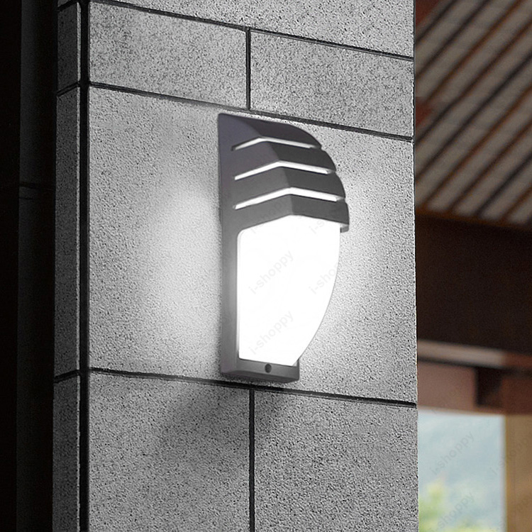 7W LED Outdoor Exterior Light Fixture Wall Sconces Lamp Waterproof Patio  Basement Gate Balcony(China