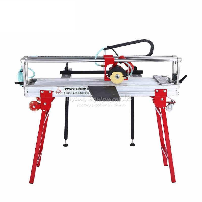 Multifuncional mesa eléctrica tipo máquina de corte libre de polvo para cortar madera piedra baldosas de cerámica