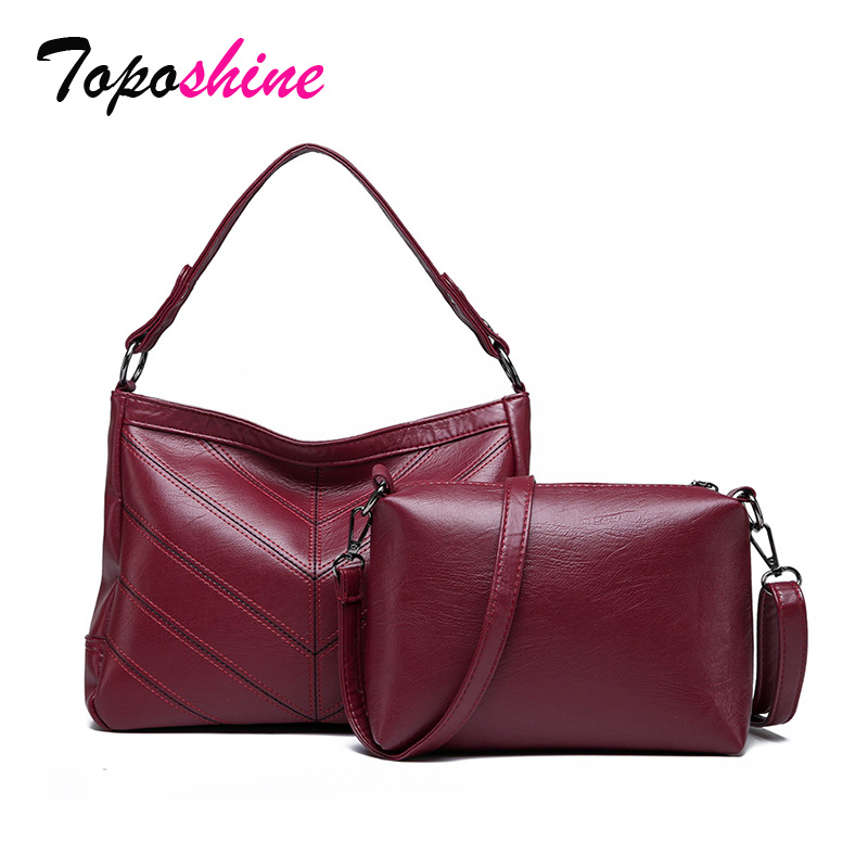 Messenger-Bag Handbag Shoulder High-Quality Casual New-Fashion Two-Sets Wild of Temperament