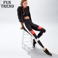 Fitness Yoga Top Women Sportswear Yoga Pants Sport Pants High Waist Running Tights Gym Leggings Yoga