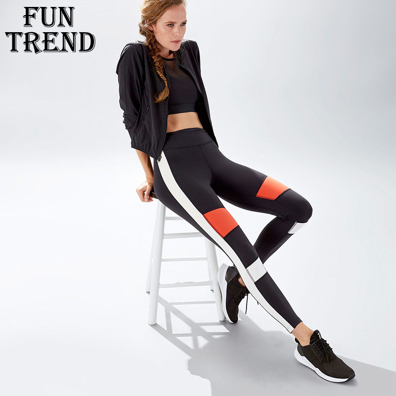 Fitness Yoga Top Women Sportswear Yoga Pants Sport Pants High Waist Running Tights Gym Leggings Yoga Leggings Compression Tights women yoga pants sets fitness yoga leggings elastic tights sport running gym bra breathable pants t shirt 3pcs setleri clothes