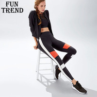 Fitness Yoga Top Women Sportswear Yoga Pants Sport Pants High Waist Running Tights Gym Leggings Yoga