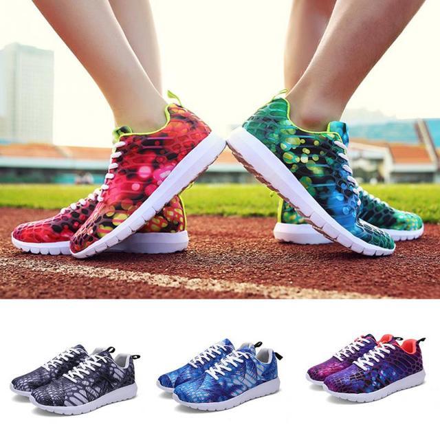 Women Running Shoes Female Sports Shoes Non Slip Damping summer Outdoor Walking Shoes Women zapatillas mujer sneakers 2017