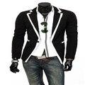 2016 Новое Прибытие мужская Британский темперамент Тонкий костюмы мужская костюм tide Бренд Одежды повседневная мода пиджак