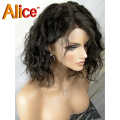 Wholesale Price 8a Short Brazilian Full Lace Wig Human Hair Brazilian Lace Front Human Hair Wigs With Baby Hair for Black Women