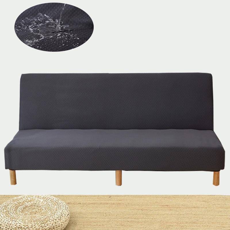 WLIARLEO imperméable canapé-lit couverture nouveau canapé housse 100% Polyester tricot couverture pour canapé solide gris moderne fundas canapé