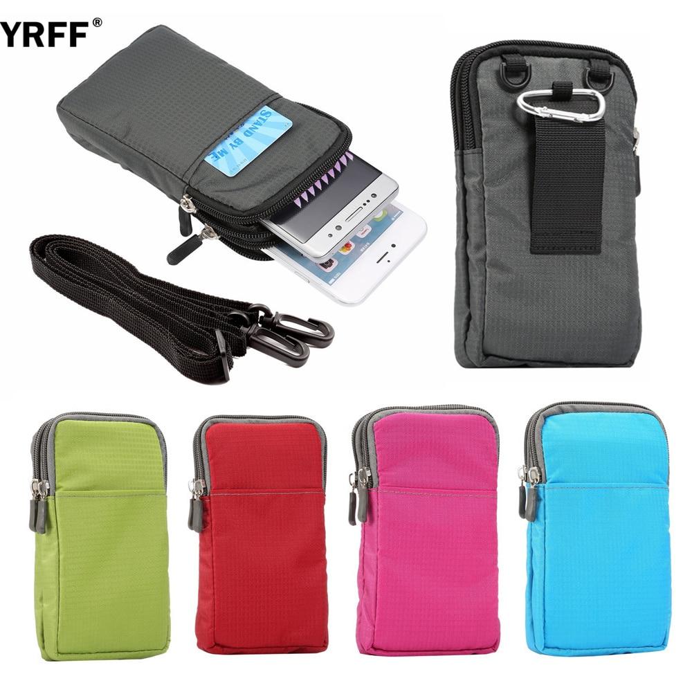 YRFF Plånbok Mobiltelefonväska Utomhus Armé Skydd Case Hook Loop - Reservdelar och tillbehör för mobiltelefoner