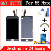 Best Quality New LCD Display Digitizer Touch Screen Assembly For Meizu M5 Note Smart Cellphone 5