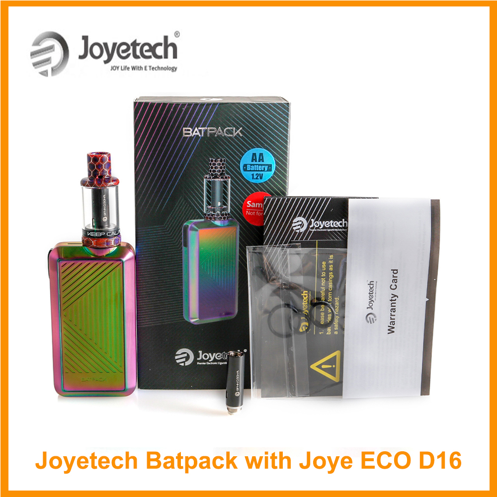 Original <font><b>Joyetech</b></font> BATPACK Kit With Joye ECO D16 Atomizer 2.0ml Capacity <font><b>0.5ohm</b></font> <font><b>BFHN</b></font> Coil Electronic Cigarette image