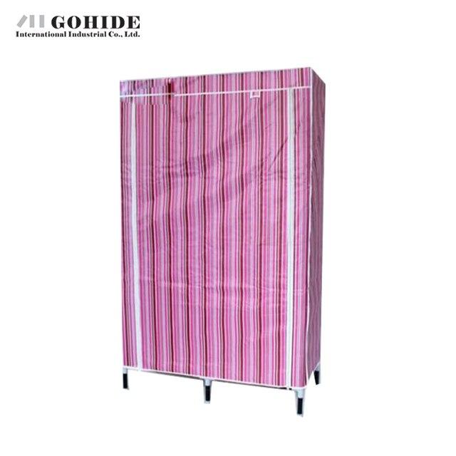 Gohide Ткань Оксфорд Wardrob Водонепроницаемый Ткань Гардероб Складной Сочетание Шкаф Большой Емкости Шкафчик Для Хранения Одежды Висит