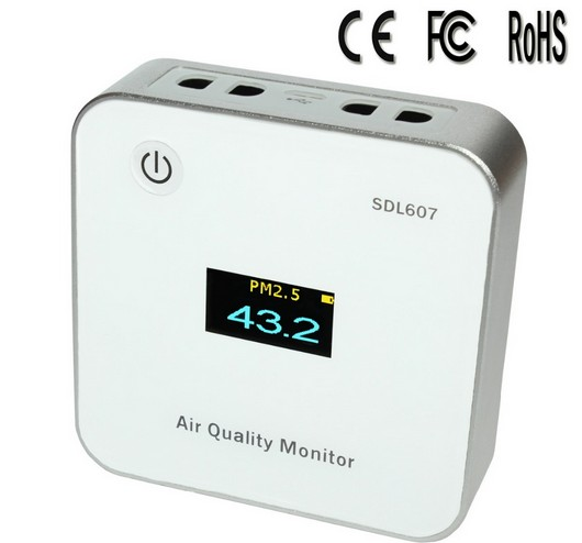 Free Shipping Air Quality Monitor /pm2.5 Monitor /SDL307/ SDL607/inovafitness PM2.5 Detector
