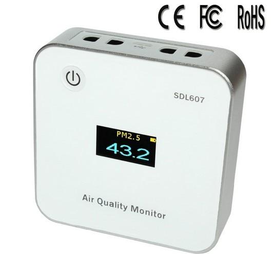Free shipping air quality monitor /pm2.5 monitor /SDL307/ SDL607/inovafitness PM2.5 detector
